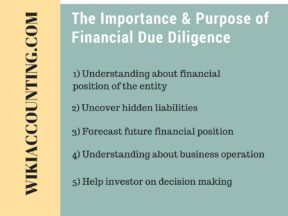The Importance & Purpose of Financial Due Diligence