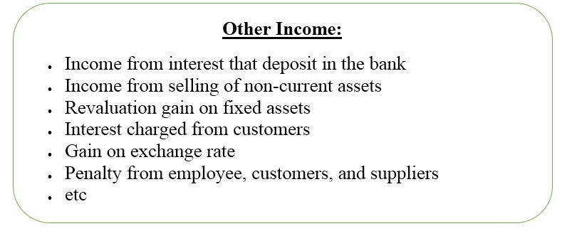 Other Income In Income Statement  Wiki Accounting