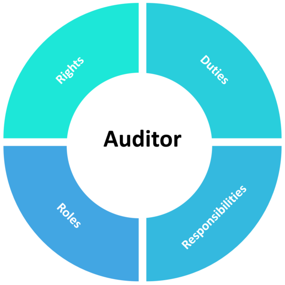 Auditors' rights and duties